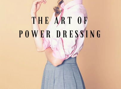 the art of power dressing banner