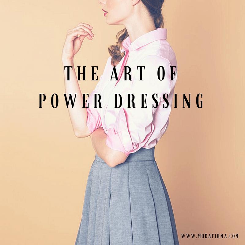 the art of power dressing banner