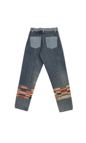 High Waist Blanket Jeans