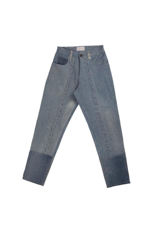 Indigo High Waist Jeans