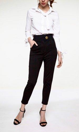 Black polite pants