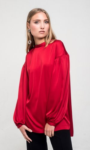 Genna Red Blouse