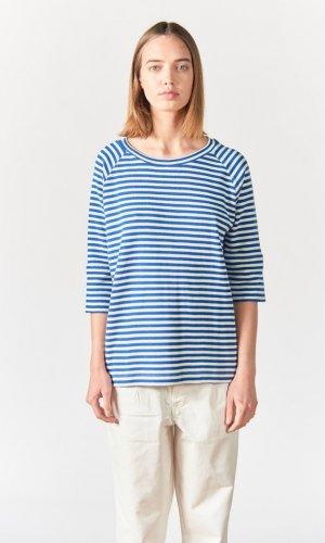Avery Striped 3/4 Raglan T-Shirt