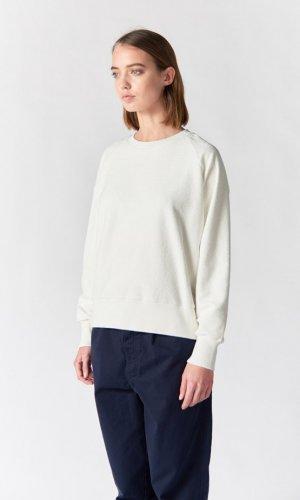 Koby Reverse Cream Sweatshirt