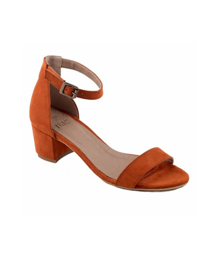 Irene Orange Sandals