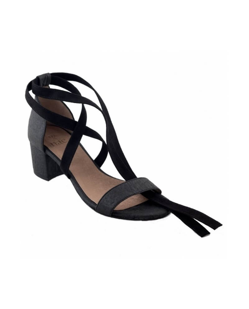 ee5fb29ff8fa Clau Black Strappy Sandals