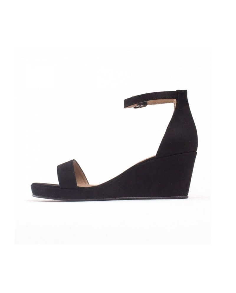 Black Wedge Sandals Sthcqrd Linda TlK1Fuc3J
