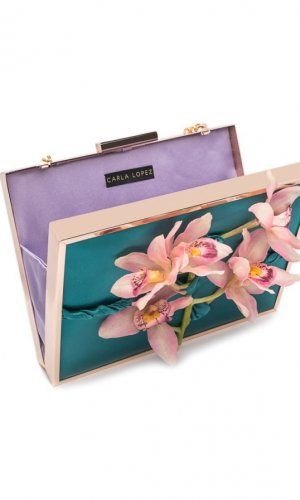 Atrezzo Orchid Clutch