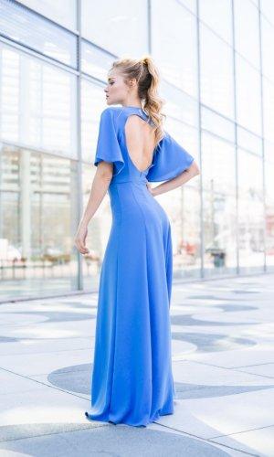Luann Blue Maxi Dress