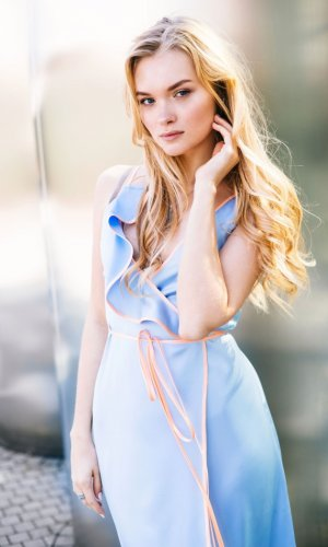 Khloe Wrap Maxi Dress