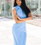 Delia Blue Blazer Dress