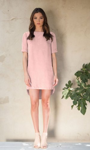Ana Pink Shift Dress