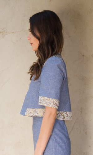 Leya Chambray Jacket