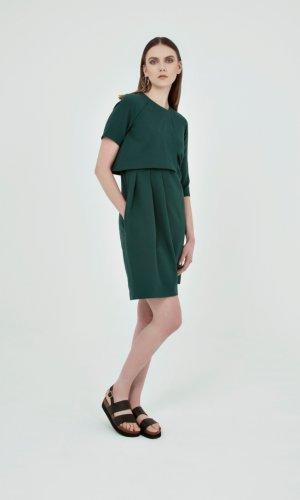 Alma Crepe Dress