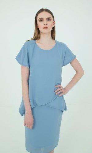 Celeste Natural Silk Dress