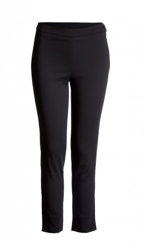 Stretch Black Trousers