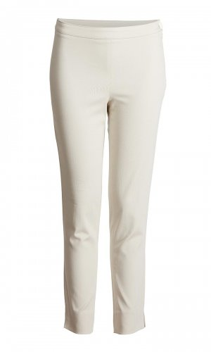 Stretch Off-white Trousers