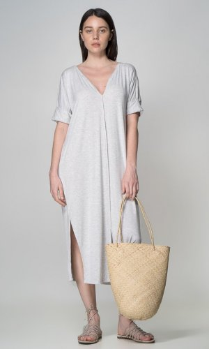 Organic Bamboo Tie Dress