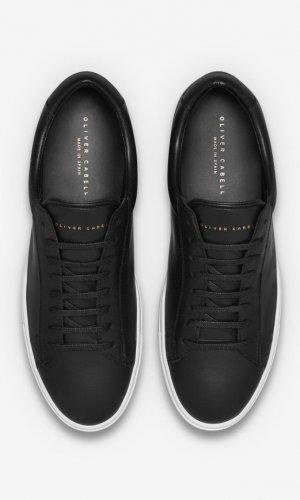 Low 1 Black Sneakers