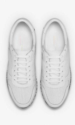 Rennes White Runner Sneakers