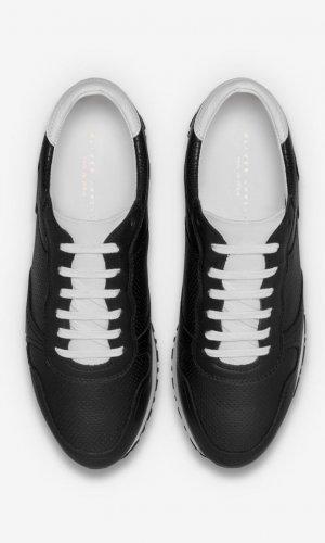 Rennes Black Runner Sneakers