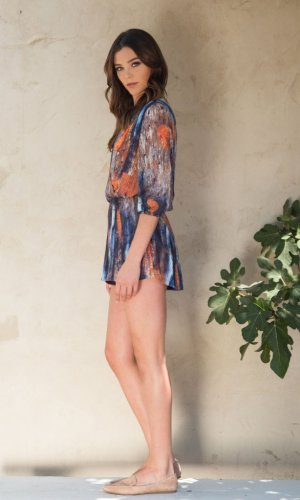 Miranda Printed Playsuit