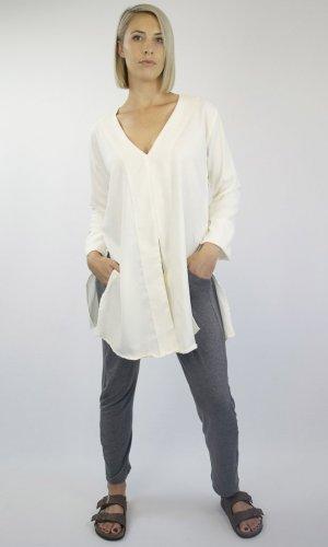 Mid-Sleeve Blouse