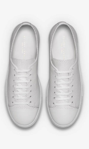 Erving White Basketball Sneakers