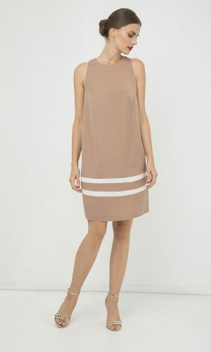 Nude Sleeveless Dress