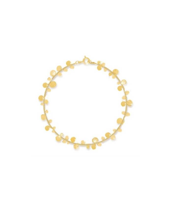 Cluster of Stars 9ct Gold Bracelet