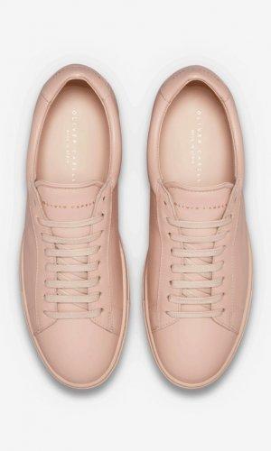 Low 1 Nude Sneakers