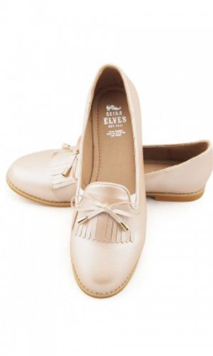 Audrey Rose Gold Loafer