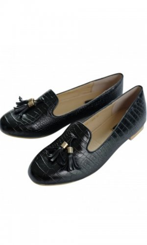 Kyra Alligator Look Loafer