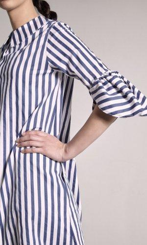 Ashbury Striped Midi Dress