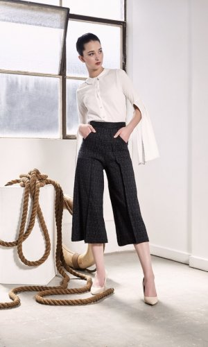 Juneau Pleated Culottes