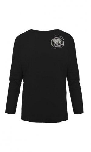 Black Rose Organic Cotton Top