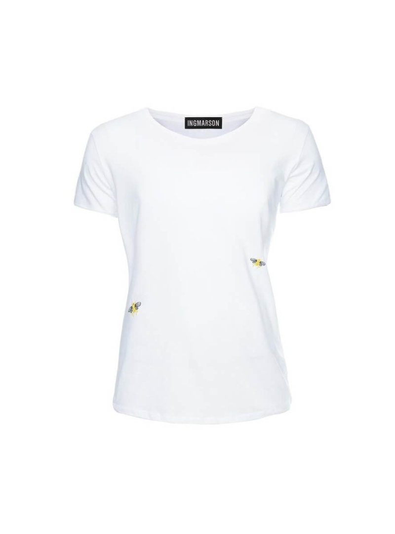 White Bee Ogranic Cotton T-Shirt