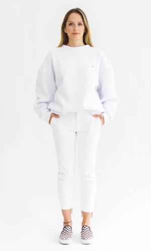 White Boo Pullover