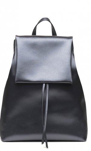 Metallic Silver Backpack