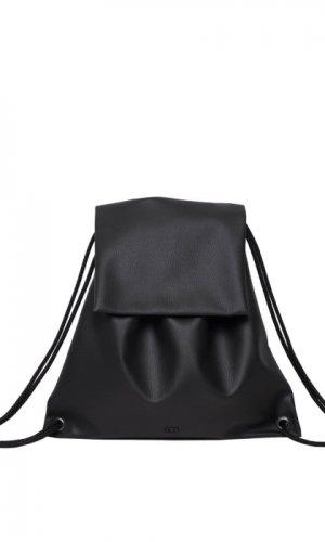 Black Flap Backpack