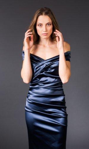 Ana satin dress