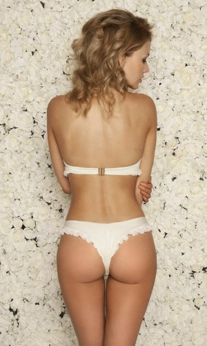 Bridal bikini bottoms
