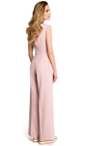 Pink Culotte Jumpsuit