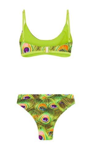 Print bikini bottoms