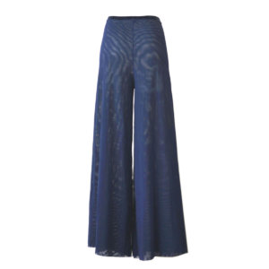 Blue palazzo pants
