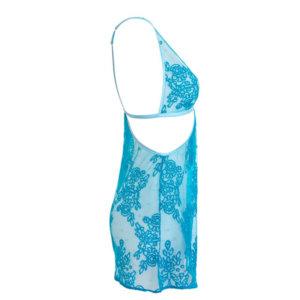 Lingerie slip dress