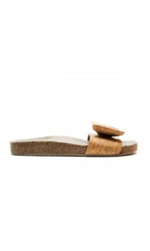 Monik Cork Flat Sandal