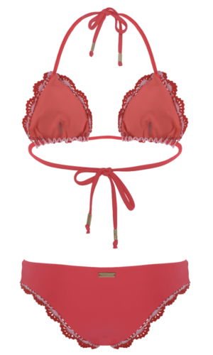 Ruby Red Bikini