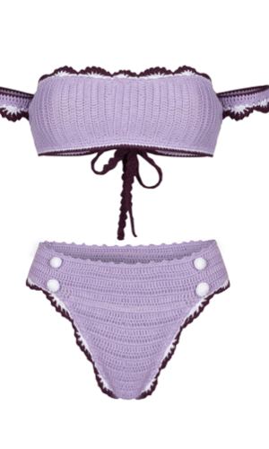 Avery Purple Bikini