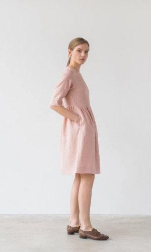 Colette Pink Loose Dress